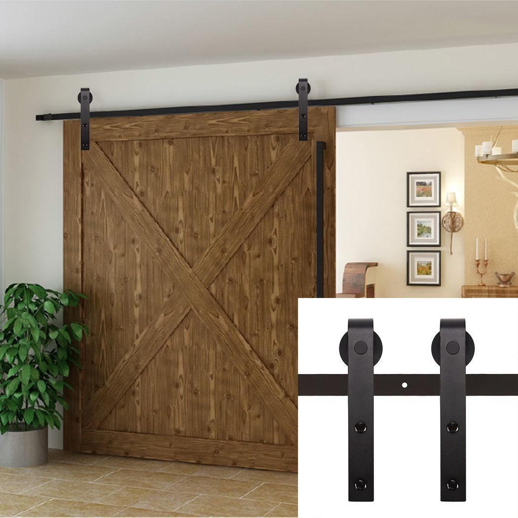 Barn Door Railing Barn Door Track System Home Decorating